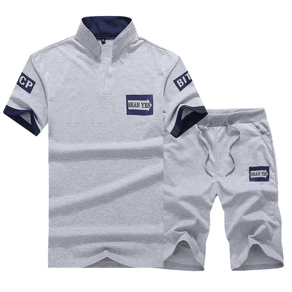 4XL Summer Male Tracksuit Sets