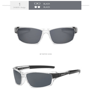 Kaaum Men's New Retro Polarized Sunglasses