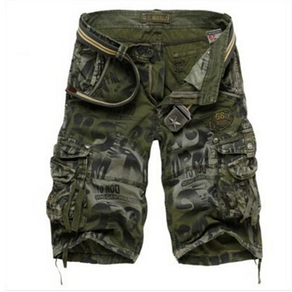 Hottest Summer Men's Camouflage Army Cargo Shorts
