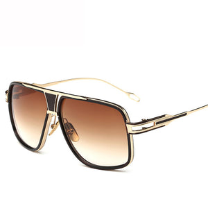 Sunglasses - Fashion Men's Oversize Square Sunglasses