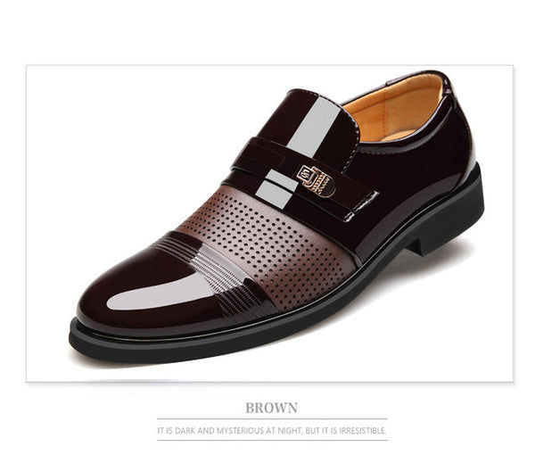 Men's Shoes New Fashion High Quality British Style Men Oxford Shoes