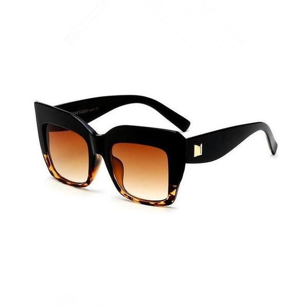 Oversized Vintage Square Sunglasses