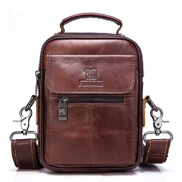 New Vintage Casual Business Genuine Leather Travel Bags.