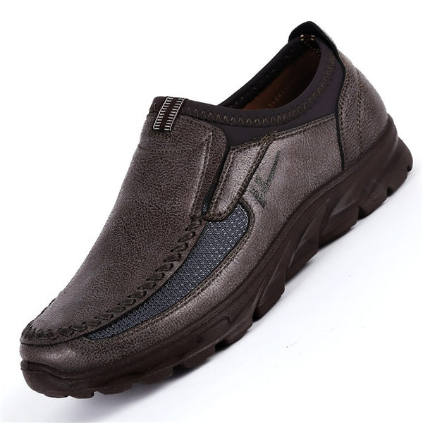 Hot Sale Breathable Comfortable Leather Loafers