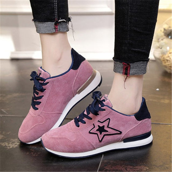 Winter Spring Fashion Breathable Comfort Platform Sneakers