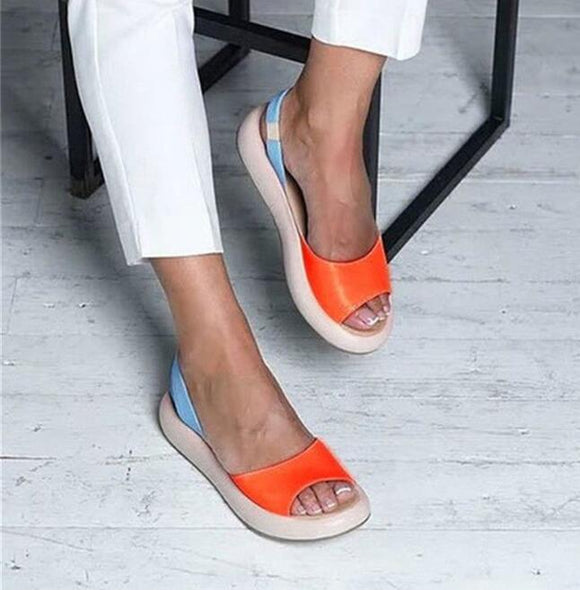 Shoes - Summer Comfortable Outdoor Women Non-slip Slippers Sandals