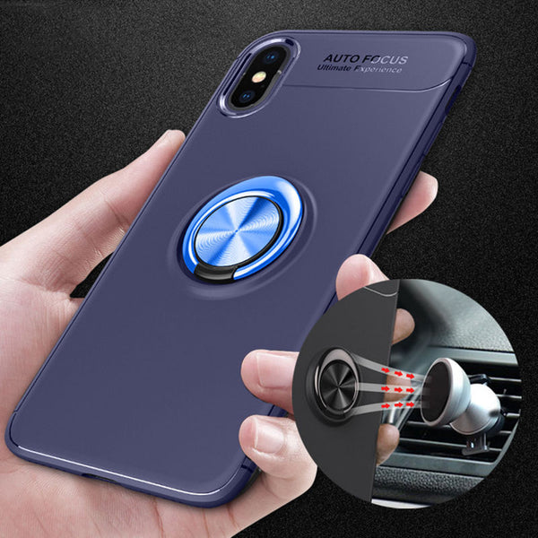 Fashion Car Magnetic Ring Phone Case For iPhone(Buy 2 Get 10% off, 3 Get 15% off Now)