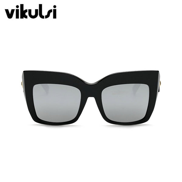 Sunglasses - Vintage Large Frame Square Sunglasses