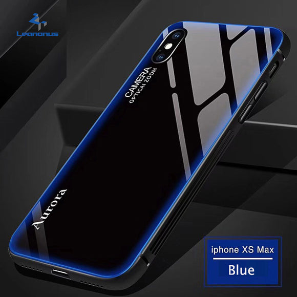 Luxury Tempered Glass Edge Case for iPhone X/XR/XS/XS Max