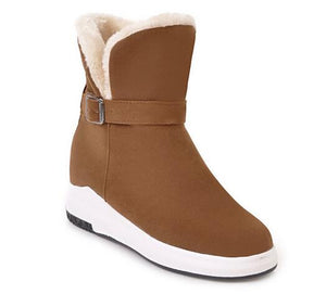 Kaaum Ladies Warm Plush Ankle Snow Boots(BUY ONE GET ONE 20% OFF)