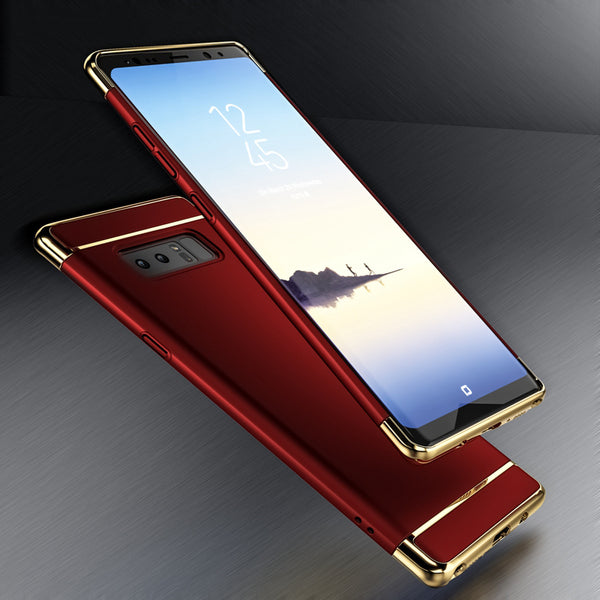 Phone Cases - Luxury 3 in 1 Hybrid Case for Samsung Galaxy Note 8