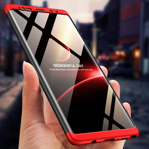 Phone Cases - Full Protection 3in1 Hard PC Case For Samsung Note 9/8