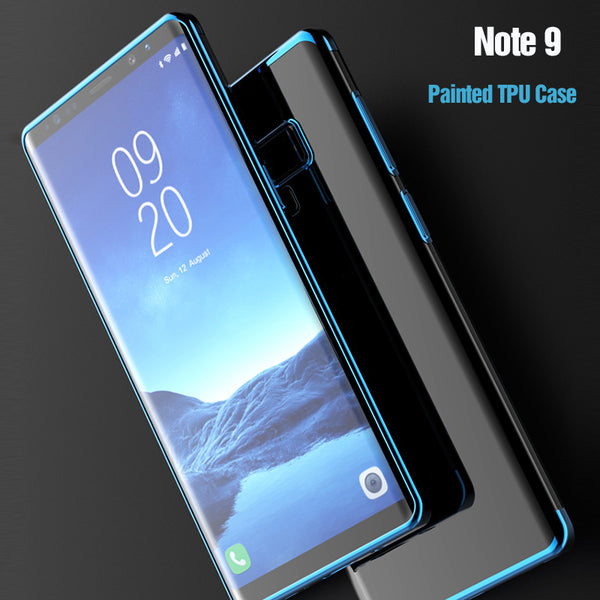 Phone Accessories - Crystal Clear Soft Phone Case For Samsung Note 9