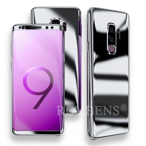 huge selection of ecbc7 b4c81 Luxury Ultra Thin Bling Mirror 360 Full Protection Cover For Galaxy S9 Plus  Case + Soft Film