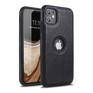 Luxury Leather Back Ultra Thin Case Cover For iPhone