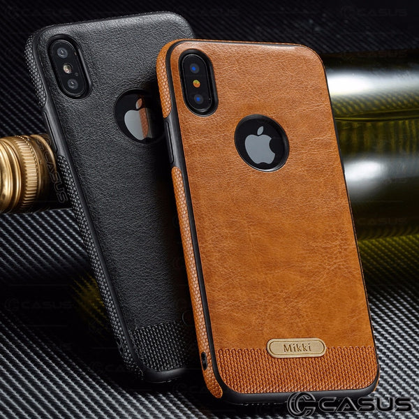 Phone Case - Fashion Leather Ultra Thin Back Case Cover for iPhone