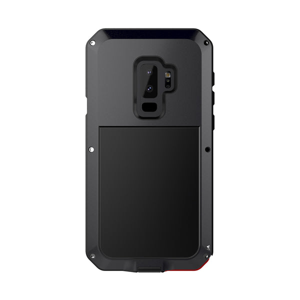 Phone Case - Luxury Doom Armor Dirt Shock Metal Aluminum Phone Case For Samsung Galaxy S9 S9Plus Note8/S8/S8PLUS ( No Tempered Glass )