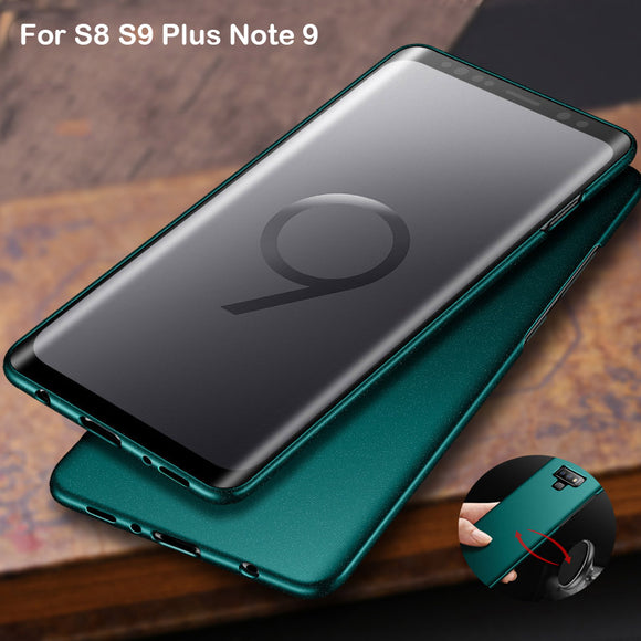 Luxury Retro Anti Fingerprint Full Protective PC Metal Ultra Slim Thin Case
