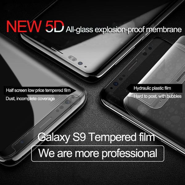 Full Cover Tempered Glass For Samsung Galaxy S8 S9 Plus S7 Edge