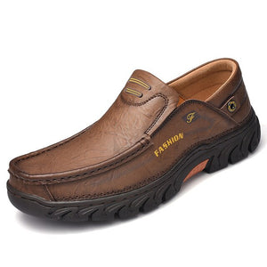 Mens Genuine Leather Leisure Outdoor Shoes