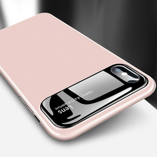 Phone Accessories - Anti-fall Tempered Glass Case For iPhone