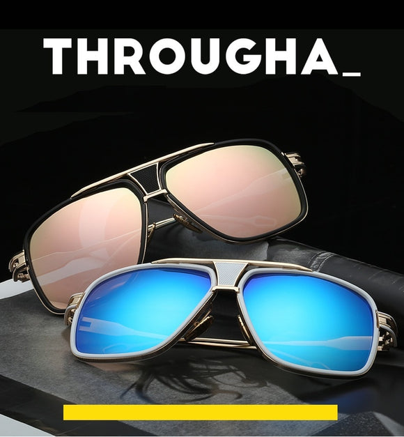 Fashion Men's Oversize Square Sunglasses