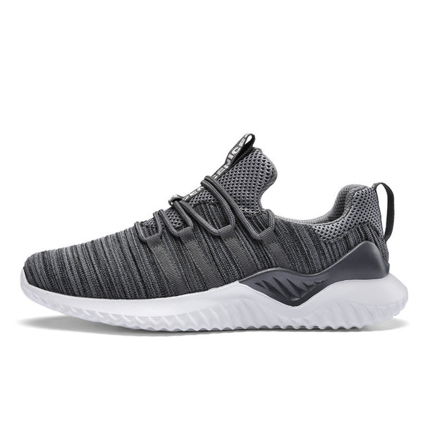 Men's Shoes - Good Quality Men Breathable Mesh Walking Running Shoes