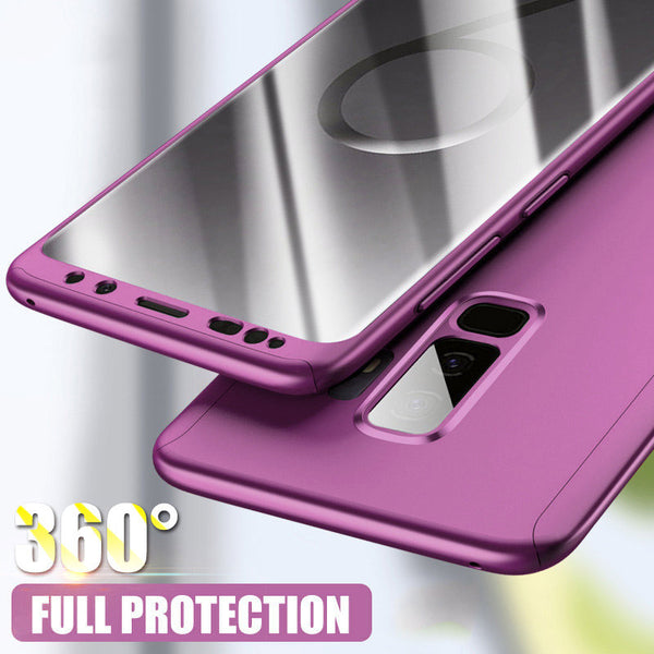 new product 41633 9ff91 Phone Cases - 360 Degree Ultra Thin Case for Samsung Galaxy S8/S9/S7 with  Screen Film