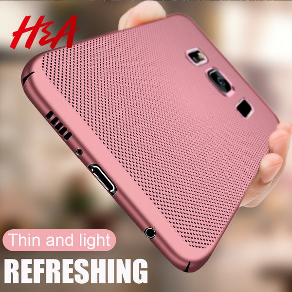 Phone Case - Luxury Matte Hard Phone Case For Samsung