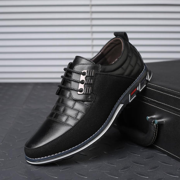 Shoes - 2019 New Large Size Men's Business Leather Oxfords Shoes (Buy 2 Get 5% OFF, 3 Get 10% OFF)