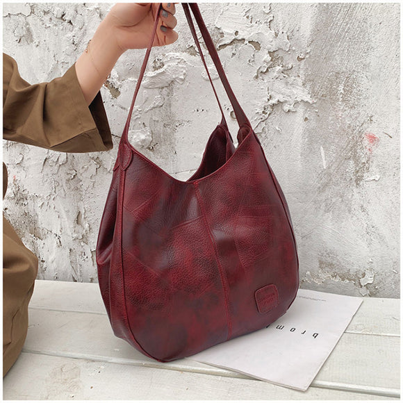 Vintage Women Hand Bag Top-handle Bags