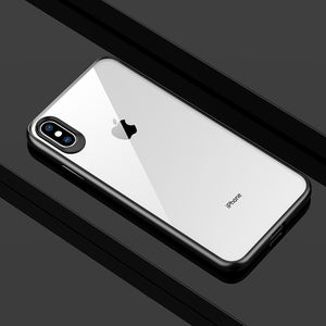 Phone Case - Luxury Newest Full Protective TPU Transparent Back Cover For iPhone X/Xr/XS/XS Max