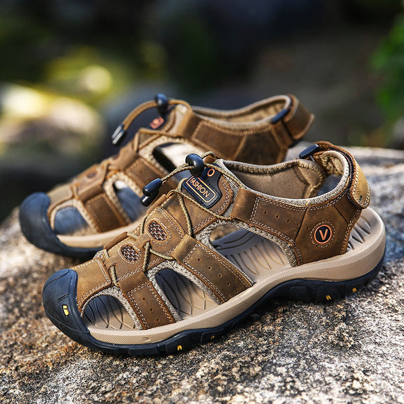 Men's Shoes - 2019 Summer Big Size Outdoor Sports Beach Sandals