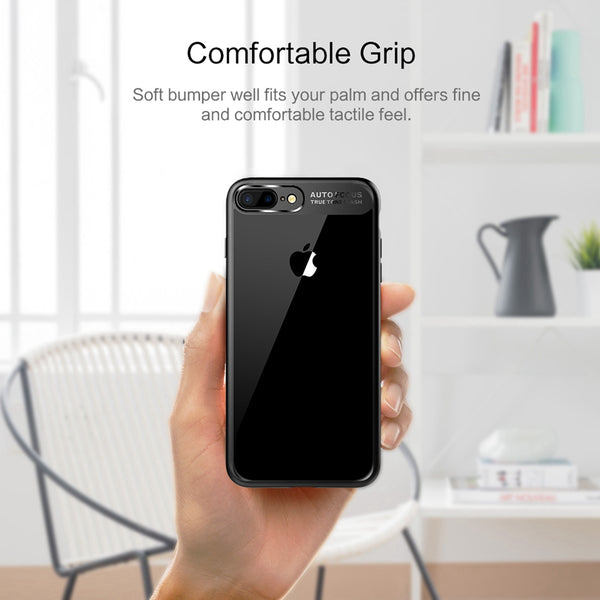huge selection of dbb9c f2e92 Phone Case - Luxury Ultra Thin Capinhas PC & TPU Silicone Phone Case For  iPhone 8/7 Plus