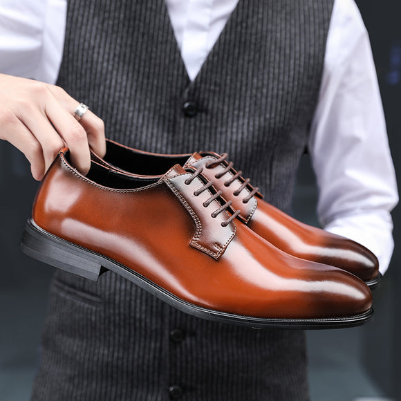 Shoes - 2019 New Classic Genuine Leather Dress Shoes