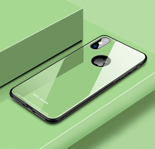 Armor Glass Case For iPhone X XS XR XS Max