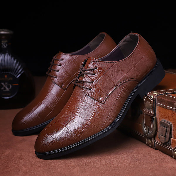 Shoes Men Casual Oxfords Wedding Party Office Flats Shoes Kaaum