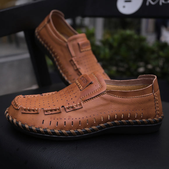 Shoes - Plus Size Fashion Breathable Loafers