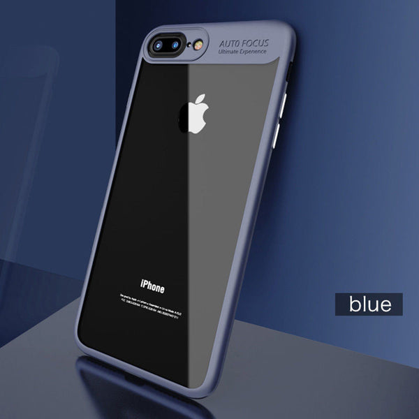 Phone Case - Full Protective TPU Acrylic Transparent Back Cover