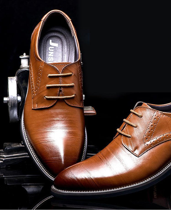 Shoes - Mens Fashion Formal Leather Shoes ( Buy One Get One 20% Off )