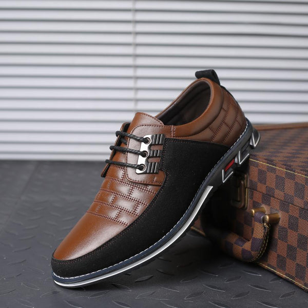 Shoes 2019 New Large Size Men's Business Leather Oxfords Shoes (Buy 2 Get 5% OFF, 3 Get 10% OFF)