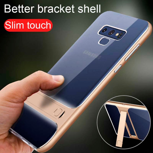 Phone Cases - Luxury Hard PC+TPU Case for Samsung Galaxy Note 9/8  with Holder