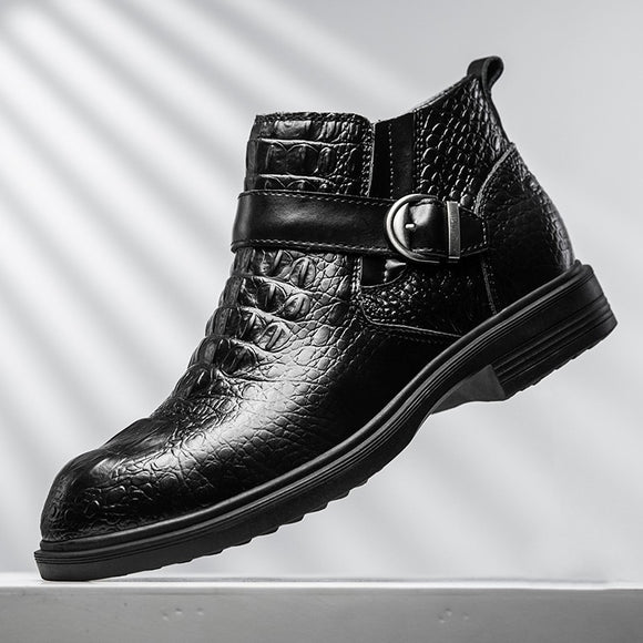 Kaaum Autumn Winter Warm Business Men's Boots(Extra Buy 2 Got 10% off, 3 Got 15% off Now)