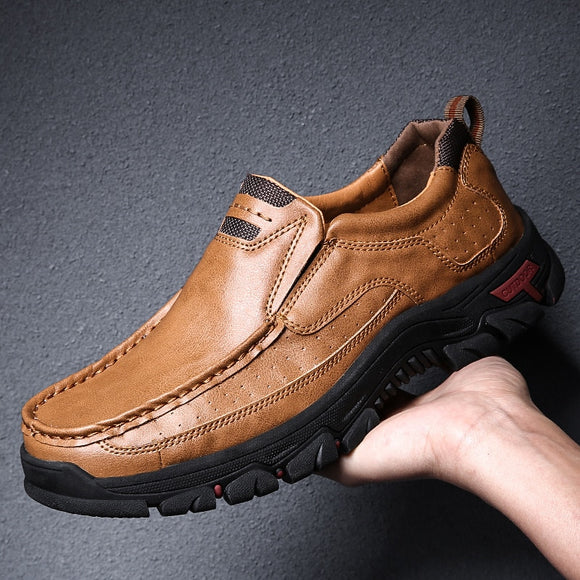 High Quality Microfiber Leather Mens Casual Shoes