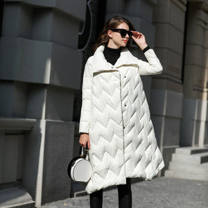 Women's Clothing - High Quality 90% Goose Down Coat