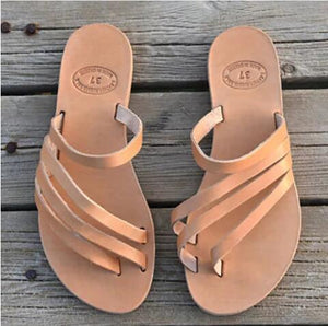 Women's Shoes - Fashion Summer Flat Beach Outdoor Comfortable Sandals