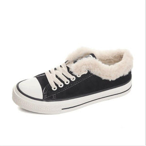 Hot New Style Ladies Winter Fur Ankle Snow Boots
