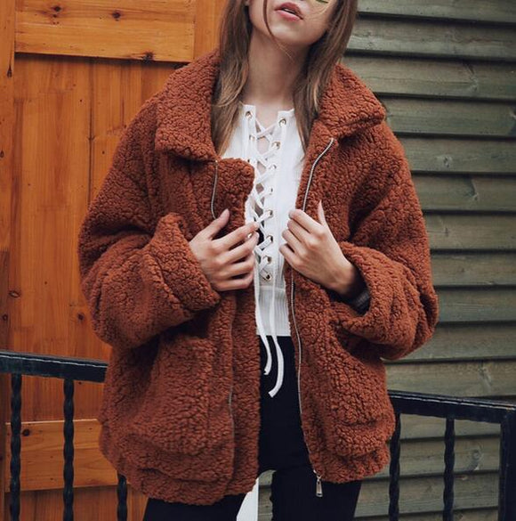 Women's Clothing - 2018 Women's Autumn Winter Warm Zipper Coat(Buy 2 Got 5% off, 3 Got 10% off Now)