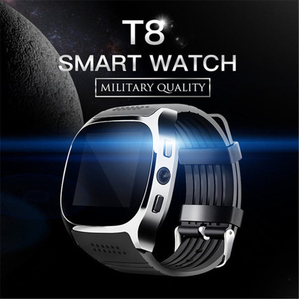 T8 Bluetooth Smart Watch With Camera Music Player For Android