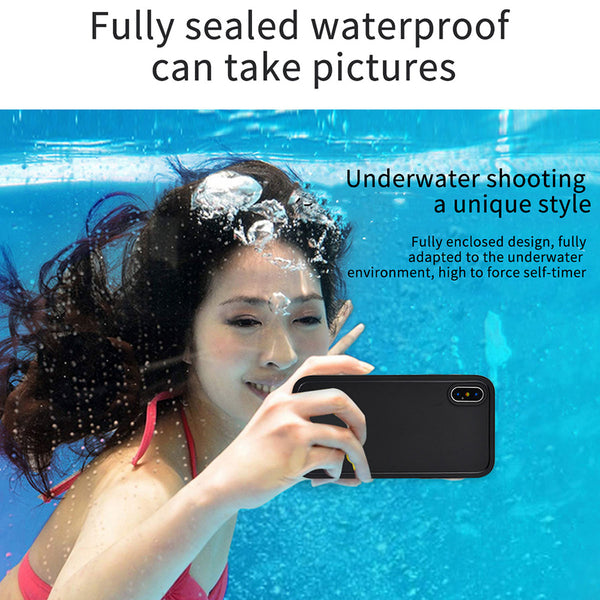 Phone Accessories - Real Waterproof Phone Case For iPhone